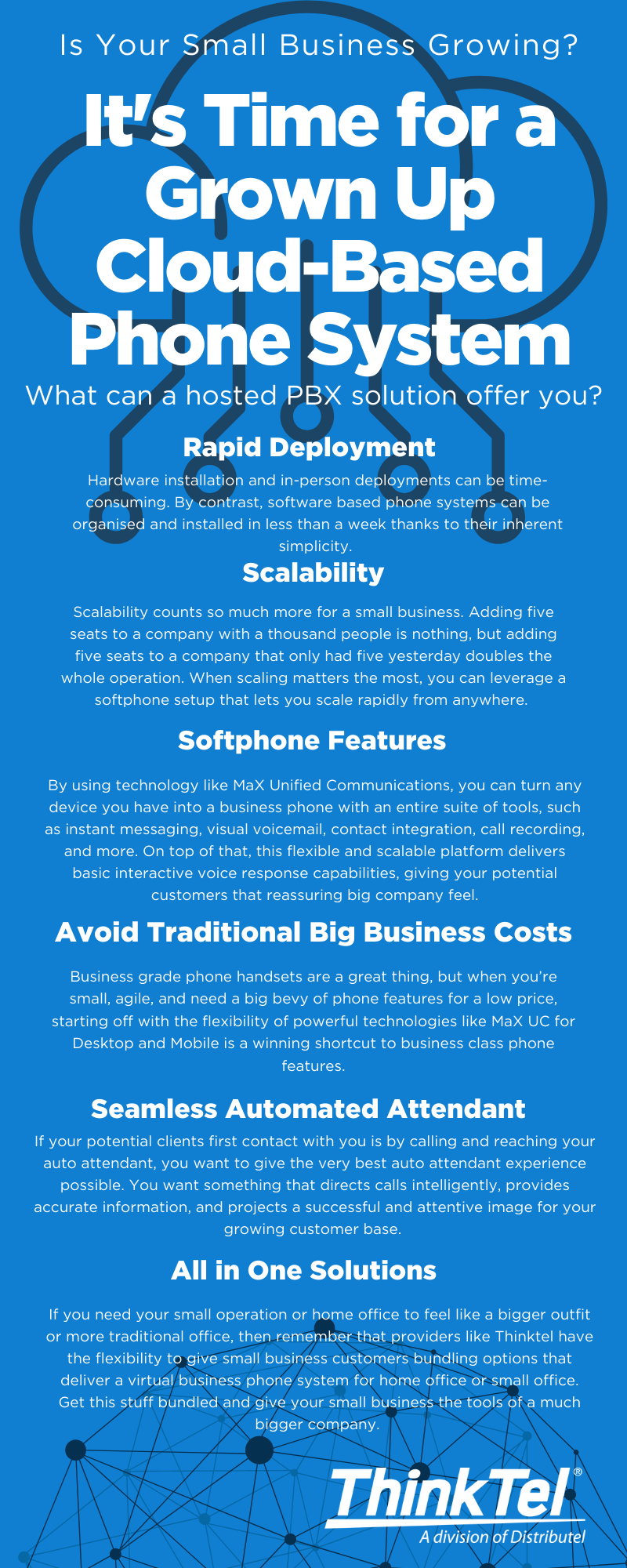 Is Your Small Business Growing? It's Time for a Grown Up Cloud-Based Phone System