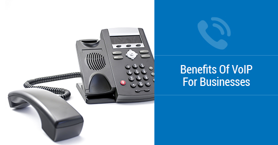 Black VoIP business phone