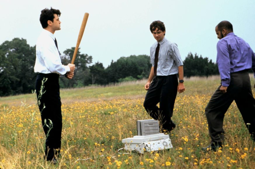 Image from Office Space movie